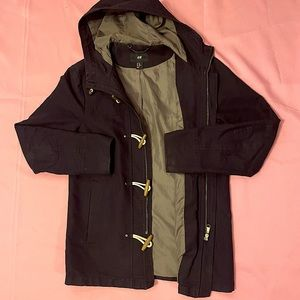 Sailor coat with toggles!